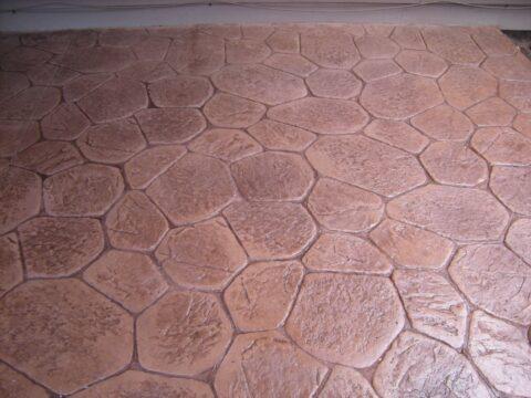Large Random Stone Pattern